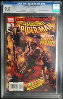Amazing Spider-Man #554 Marvel Comics CGC 9.8 White Pages