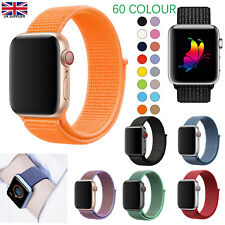 Replacement Woven Nylon Strap for Apple Watch Series 2 3 4 5 6 38/40mm  42/44mm