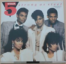 "5 STAR - Strong as steel - MAXI LP VINYL 12"" 45 RPM 1987 NM/VG+ CONDITION"