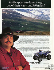 1995 Print Ad of Polaris 2X4 300 ATV Quad Four Wheeler