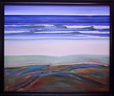 "Original Oil on Canvas ""Low Tide"" by Ross D Jahnig"