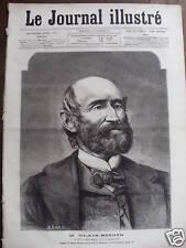 JOURNAL ILLUSTRE 1877 N 47 M. ALEXANDRE GLAIS -BIZOIN