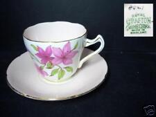 BEAUTIFUL ROYAL GRAFTON 8041 PINK CUP & SAUCER