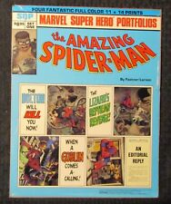 "1981 SPIDER-MAN 11x14"" Portfolio Set One by Fastner & Larson SQP"
