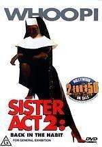 Sister Act 2: Back In The Habit NEW DVD (REGION 4) Whoopi Goldberg James Coburn