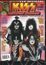 1999 METAL EDGE KISS PSYCHO CIRCUS TOUR MAGAZINE w POSTERS & Elder Comic