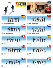 Noch H0 1:87 figuras modelismo ferroviario maqueta trenes escala personal Europa