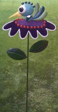 "Garden Lawn Yard Decoration Whimsically Styled Green Bird NEW 48"" tall"