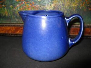 Rare Ashtead Art Pottery Art Deco Blue Jug 1923 -1935 from Ashtead Surrey