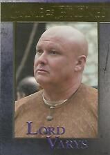 "Game of Thrones Season 6: No. 45 ""Lord Varys"" GOLD Parallel Base Card #055/150"
