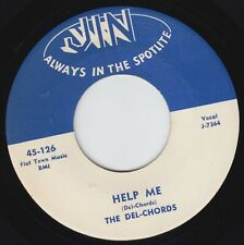 THE DEL CHORDS - HELP ME (JIN 126) FIRST PRESS, KILLER, CLASSIC!!!