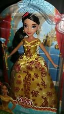 Disney Elena of Avalor princess doll new classic 12 in navidad gown yellow red
