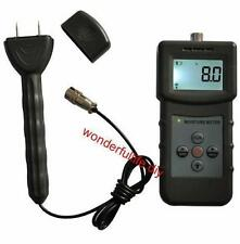 Moisture meter Pin Inductive humidity tester for Timber Bamboo Carton concrete