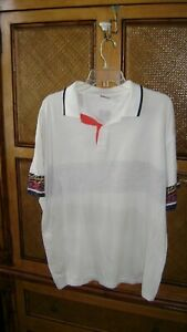 VINTAGE 70's - 80's LIGHTWEIGHT HEAD TENNIS MEN'S POLO SHIRT - Ashe, Connors