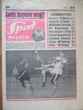 SPORT MAGAZIN KICKER 36 B - 5.9. 1968 Schalke-Bayern 1:2 HSV-Bremen 2:1 1860-BVB