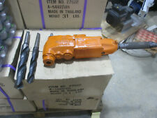 Ingersoll Rand pneumatic driven multi-vane angle drill Size 30 with 2 bits