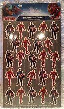 Set of 96 Captain America Civil War Iron Man Stickers (4 Sheets x 24)  NIP
