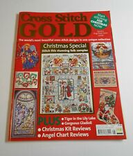 Cross Stitch GOLD Magazine – Christmas Special Issue 5 – Aug/Sept 2001