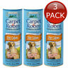 3 x MEADOWOODS CARPET & ROOM POWDER PET ODOUR DEODORISING FRAGRANCE BULK 568g