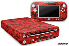 Skin Decal Wrap for Nintendo Wii U Gaming Console & Controller Sticker DIGICAM