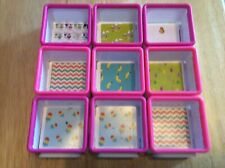 Moose Toys Twozies Boxes/ Containers Only Lot of 9 Join From All Sides, No Dolls