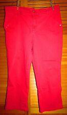 BandolinoBlu capris? jean women16W Petite? Pink Reddish? w 36 L 23,50 hip 44