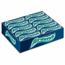 Wrigley's Airwaves Menthol & Eucalyptus Chewing Gum 10 pieces (Pack of 30)