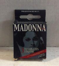 Madonna Condoms New!