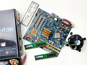 Gigabyte GA-945GCM-S2 + Intel Core 2 Duo + Kingstons 512mb & 1gb