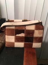 Vintage Patchwork  Fur Handbag