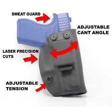 Concealment IWB Adjustable Cant Holster for Glock Handguns