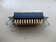 Painton Plessey Pin conector macho con llave de 47 vías con retenedores 74/10/4706/10
