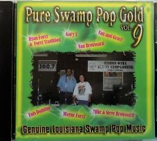 PURE SWAMP POP GOLD vol.9 - cd rock blues cajun LOUISIANA