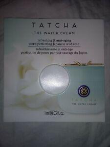 Tatcha Water Cream Refreshing Anti-Aging Pore-Perfecting Japan Wild Rose 0.03OZ