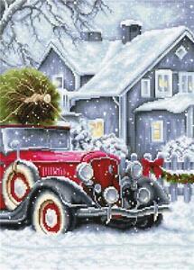 Luca-S ~ Counted Cross Stitch Kit ~ Winter Holidays ~ Christmas ~ BU4010