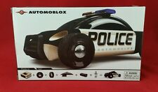Automoblox S9 Police Cruiser Car Kids Wooden Building Block Toy 985018 NEW