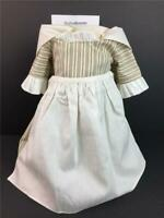 American Girl Felicity Work Outfit~Dress/Gown~Apron~Kerchief~Pleasant Company