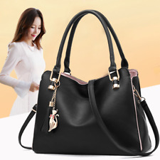 Women Faux Leather Handbags Crossbody Shoulder Bags Lady Casual Totes Messenger