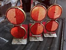 3- Stimsonite 12A Red Road Reflectors