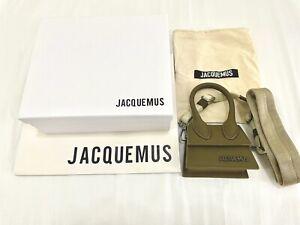 Jacquemus Le Chiquito Homme Mini Crossbody Bag Khaki