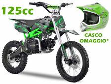 """Pit Bike 125cc SKY 4 Marce  Ruote 14"""" 12""""  Forcelle Rovesciate  CASCO OMAGGIO*"""