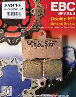 EBC/FA347HH Sintered Pads (Front) - Triumph Daytona 675, Street Triple R/RX 675