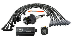 ICE Ignition 7 AMP Street Kit - Small Block Chev 283-400 with FLAT TAPPET CAM