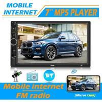 7 '' Autoradio Stereo Touchscreen Doppel 2Din Bluetooth MP5 AUX FM USB In-Dash