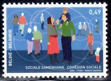 SELLOS BELGICA 2003 3201 COHESIÓN SOCIAL 1v.