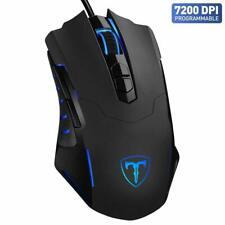 VicTsing DPI Gaming Mouse - Black VT-0713-C 7200