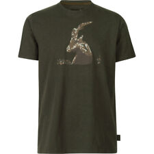 Seeland Flint Ram Tee Shirt in Grizzly Brown