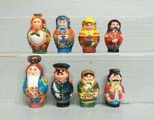 Série complète de fèves MATRIOCHKAS 2002 Poupées russes Filet or * 73-77