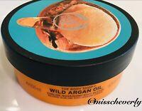 THE BODY SHOP Argan Oil Body Butter AUTHENTIC Moisture Cream 6.75oz/200ml NEW