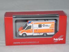 Herpa MB SPRINTER 13 RTW fahrtec servizio di soccorso Dülmen 093675